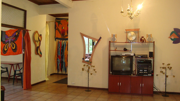 Come in and put on a Sarong (the Foyer has over 20 Sarongs for you to choose to wear while visiting us if you desire! Men also - BE FREE!!! Be YOU!!)!    Make yourself at home!!! It's a real Me casa es Su casa (my house is your house)!  Free WiFi (for sure in the West/Common end of the house though most of the time it works throughout the house [it's a 6,000 sq' cement & rebar zig-zaggy home]) FREE Unlimited calls to the U.S. & Canada A U.S. # (Venice/Sarasota, Florida) for your people to call you on  Other FREE goodies and services: Concierge / Reservationest from our partners Travel/Tour agency - Enjoying Costa Rica Tours FREE access to our over 3,000 resource http://SelfEmpowermentLendingLibrary.com while staying with us Business Center! Meeting Space Message Center Cell Phone Guests can rent Cable TV with many English-Speaking and U.S. TV Stations (in Common Areas) Hammocks to hang and just BE!! Flashlights to use (umbrellas & rain ponchos available to purchase) Parking Storage And LOTS MORE!!  (some free amenities are not available with discounted stays)