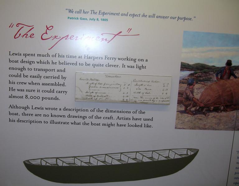 """Illustration of the """"steel framed boat""""."""