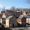 Downtown Harpers Ferry today. The small town still maintains many of the same buildings from 220 years ago.