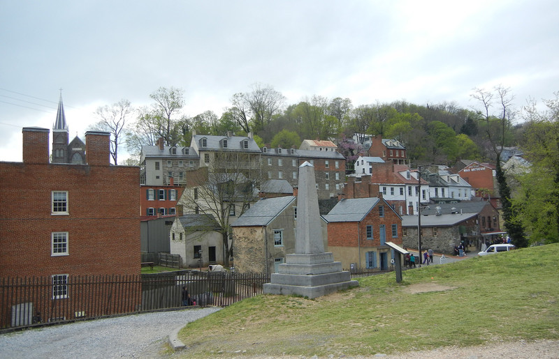 Downtown Harpers Ferry. as it looks today.
