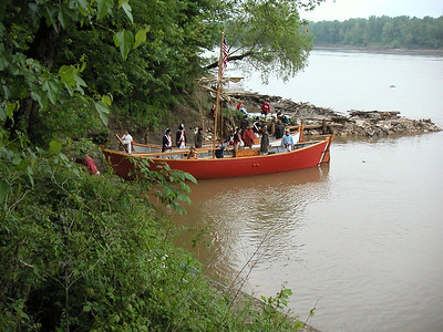 8) Keelboat and Pirogue Boats