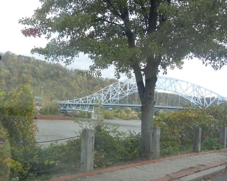 Elizabeth bridge over the local river.