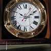 There chronometer, like this one, was used during navigation over land.  For the Captains to calculate their latitude and longitude they needed this clock to provide perfect time, but on several days, Lewis had to adjust the clock.