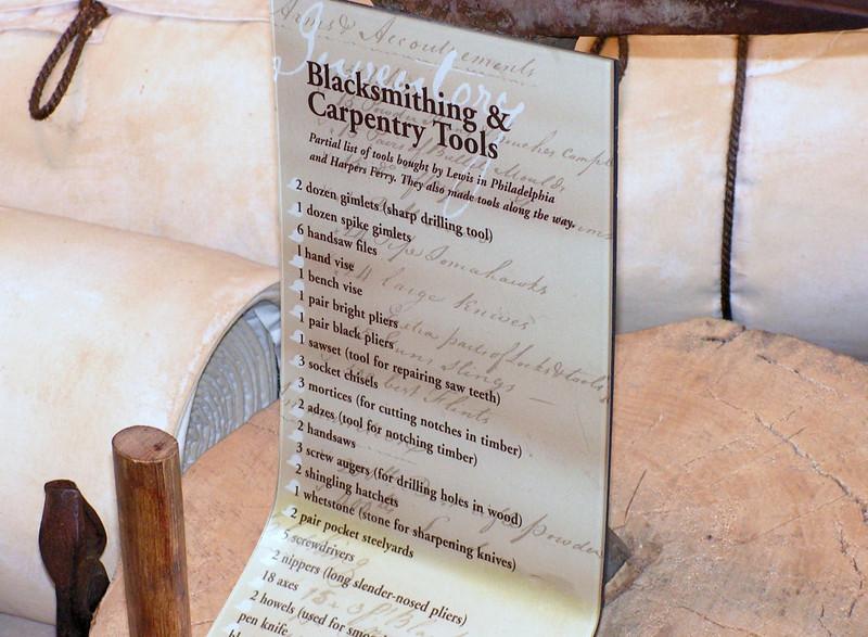 Blacksmith and Carpentry Tools