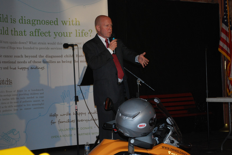 """""""Pistons & Fenders"""" Charity Event at the Coker Museum in Chattanooga 2/4/2012. The formal announcement of 2 WHEELS 4 KIDS."""