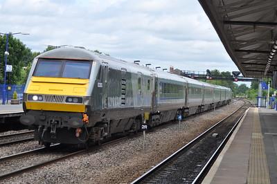 2Z02 at Princes Risborough 20th June 2018