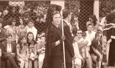 Penitencia tras La Vírgen Procesión de Los Salzillos el 22-04-2011  Autor:Jacob Muñoz Jiménez