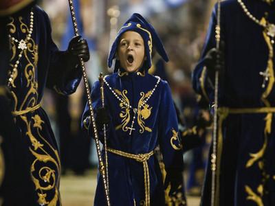 Tengo que aguantar. Semana Santa Lorca. Desfile Biblico pasional 2011  Autor:Pascual Mendez Nogera