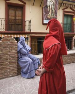 Un descanso Semana Santa de Moratalla. Tambores  Autor:Joaquín Molina Muliterno