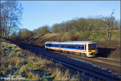 165010 glides down Hatton bank on 31/12/2001.