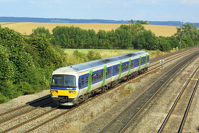166205 passes South Moreton on 05/07/2004.
