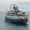 Sea Adventurer, View from Condor Liberation, Guernsey