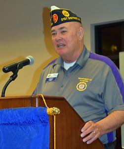 Ron Brandstreet, District 21 Commander address Post 555