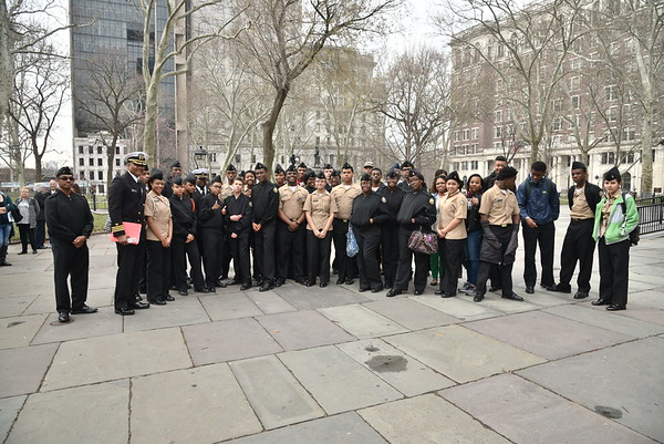 Video and pictures from Westlake High School's  JROTC field trip to Philadelphia. 3-16-2016