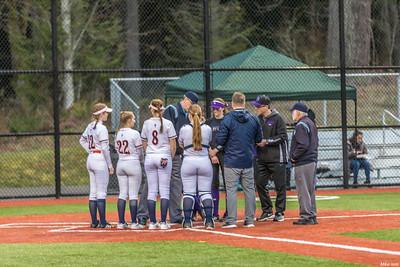 Girls Varsity Softball vs Garfield March 2018