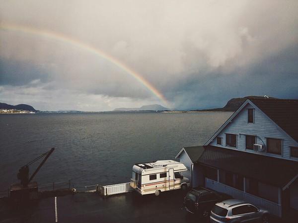 26/365 Camper van Rainbow