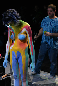 BODYPAINTING  AT  SOHO  DISTRICT  2015   -    Lower  Manhattan  NYC
