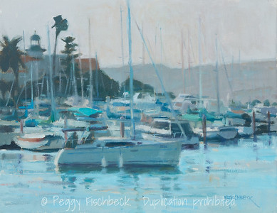 Outbound, Shelter Island, 11x14, oil on canvas - available at SCOUT Quarters D  G0605