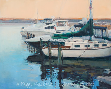 Along the Potomac, 24x30, oil on canvas  G0603 - available at SCOUT Quarters D