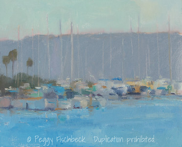 Spanish Landing View,  8x10, oil on panel  SOLD