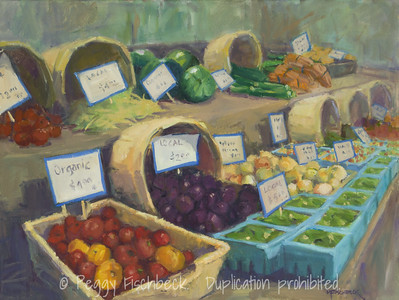 Market Fresh, 18x24, oil on canvas  H0718