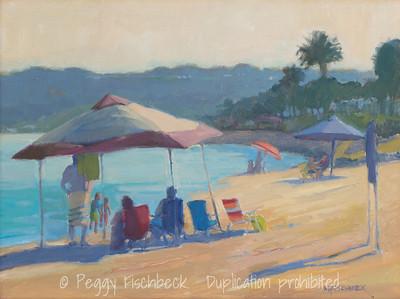 Sunny Afternoon at Shelter Island, 12x16 oil on linen  G0654