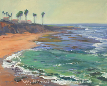Sunset Cliffs, Low Tide, 16x20, oil  SOLD