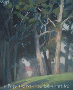 Balboa Park, 16x20, oil on linen panel  SOLD (Zuckerman collection)