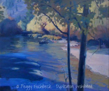 High Sierra, Twin Lakes, 16x20, oil on canvas - displayed at Therapy Specialists, 2751 Roosevelt Rd, Liberty Station