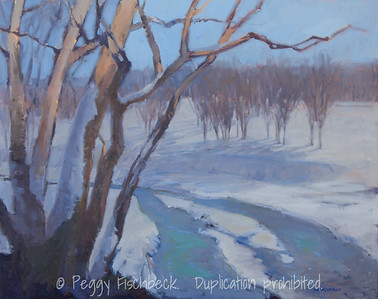 Churchill Snow, 24x30, oil on canvas  H0722