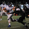 Eisenhower wins over L'Anse Creuse North 70-6 at L'Anse Creuse North High School on September 30, 2016. (MIPrepZone photo gallery by David Dalton)