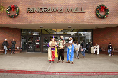 The Three Kings visit the Panorama Mall and have their pictures taken with the Mall customers.  Go to WWW.FACEBOOK.COM/PANORAMAMALL  for additonal information, upcoming events, and bargins.  Photos are free to download courtesy of the Panorama Mall and the Ralph Godoy Photographic Group.  Please send requests to delete a photo to: godoyphotos@yahoo.com  Thank You and Enjoy the photos.  Video clips are currently being uploaded and will appear on the last page.