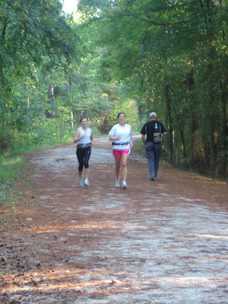 "<a href=""http://www.flickr.com/people/91828644@N00/"">Photo Courtesy of Dan Bock</a>  The American Tobacco Trail is a 22 mile Rail-Trail that runs from Durham south to Apex, North Carolina on the former Norfolk Southern Railroad line. The name of the trail reflects the main cargo of the railroad which was built in 1906. The northern section of the trail is paved but some of the southern sections are largely grass or clay. South of I-40 and Massey Chapel Road, the trail opens up to equestrian use and winds through piney woods and neighborhoods. The trail offers the chance to view lots of wildlife including beavers, herons, hawks, songbirds, vultures, squirrels, owls, and deer.  The Rail-Trail was funded through 8 separate Transportation Enhancement projects from 1996-2006. In total $2.6 million in TE funding was awarded for the construction of the trail with another $650,000 in local match funds. The trail was completed in early 2012. For more information on the trail, please visit the Triangle Rails-to-Trails Conservancy."