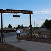 "<a href=""http://www.UtahOutdoorSports.com/""> Photo Credit: Willam Barba – UtahOutdoorSports.com<a/>  The Denver and Rio Grande Western Rail Trail extends from Farmington Bay Bird Refuge, where it joins the Legacy Parkway Trail, and runs north through Layton to 4800 S St. near West Park in Clinton. Beyond that the trail continues to Hinckley Drive in Roy. The trail continues to Clearfield and terminates in Roy.   The abandoned right-of-way is owned by the Utah Transit Authority in a land bank for future transportation needs. The various cities it links with have agreements with the light- and commuter-rail agency to maintain the trail.  Since 2006, four separate Transportation Enhancement awards focused on building the Denver and Rio Grande Western Rail Trail. In total, $1.28 million was invested through TE with an additional $320,000 coming from local sources for a total of approximately $1.6 million. The trail is 23.7 miles long and offers connections to the Legacy Trail and the Jordan Parkway Trail."