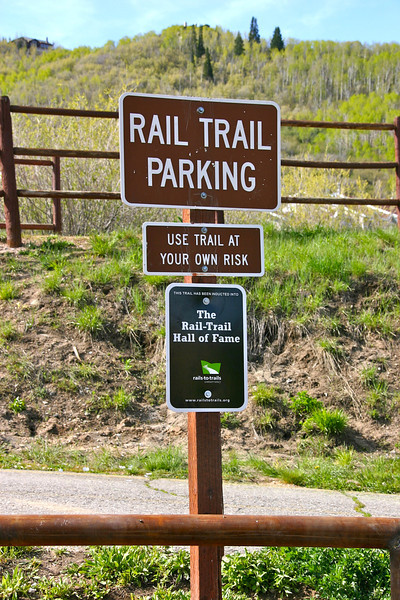 "Photo Credit: Laura Cohen, Rails-to-Trails Conservancy  The <a href=""http://stateparks.utah.gov/parks/historic-union"">Historic Union Pacific Rail Trail</a> runs 28 miles from Park City, UT north to the Echo Reservoir through Coalville. The rail trail follows the path of I-80 and is also a state park. The beautiful trail is set amongst the snow-capped backdrop of the Wasatch mountain range. In the summer time the trail is popular with bicyclists and walkers and provides a great starting point for accessing many of the nearby trails. The trail is also open for equestrian use. In the winter time the trail is used mainly by snowshoers and cross-country skiers.  The rail trail was funded by six separate TE projects. The projects occurred in 1992, 1994, 2001, 2005, 2008, and 2009 and received a total of $1.13 million in TE funding. Another $502,000 was contributed as the local match. The 30% local match contributed to these projects helped to design, acquire, and pave the trail. The trail is primarily crushed stone but is paved near Park City and Wanship. The rail trail is maintained by the <a href=""http://mountaintrails.org/""> Mountain Trails Foundation</a>   The trail will serve as the backbone to the Wasatch Loop Trail. The Wasatch Loop trail will create a loop connecting South Ogden, Park City, Heber, Provo, Salt Lake City, and many of the sounding areas. For more information on the trail contact the Historic Union Pacific Rail Trail State Park at P.O. Box 754, Park City, UT, 84060-0754 or call the park at (435) 649-6839."