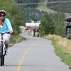 "Photo Credit: Darren Alff  The <a href=""http://stateparks.utah.gov/parks/historic-union"">Historic Union Pacific Rail Trail</a> runs 28 miles from Park City, UT north to the Echo Reservoir through Coalville. The rail trail follows the path of I-80 and is also a state park. The beautiful trail is set amongst the snow-capped backdrop of the Wasatch mountain range. In the summer time the trail is popular with bicyclists and walkers and provides a great starting point for accessing many of the nearby trails. The trail is also open for equestrian use. In the winter time the trail is used mainly by snowshoers and cross-country skiers.  The rail trail was funded by six separate TE projects. The projects occurred in 1992, 1994, 2001, 2005, 2008, and 2009 and received a total of $1.13 million in TE funding. Another $502,000 was contributed as the local match. The 30% local match contributed to these projects helped to design, acquire, and pave the trail. The trail is primarily crushed stone but is paved near Park City and Wanship. The rail trail is maintained by the <a href=""http://mountaintrails.org/""> Mountain Trails Foundation</a>   The trail will serve as the backbone to the Wasatch Loop Trail. The Wasatch Loop trail will create a loop connecting South Ogden, Park City, Heber, Provo, Salt Lake City, and many of the sounding areas. For more information on the trail contact the Historic Union Pacific Rail Trail State Park at P.O. Box 754, Park City, UT, 84060-0754 or call the park at (435) 649-6839."