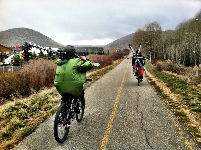 """Local skiers occasionally use the Rail Trail to travel to the nearby Park City Mountain Resort.  The <a href=""""http://stateparks.utah.gov/parks/historic-union"""">Historic Union Pacific Rail Trail</a> runs 28 miles from Park City, UT north to the Echo Reservoir through Coalville. The rail trail follows the path of I-80 and is also a state park. The beautiful trail is set amongst the snow-capped backdrop of the Wasatch mountain range. In the summer time the trail is popular with bicyclists and walkers and provides a great starting point for accessing many of the nearby trails. The trail is also open for equestrian use. In the winter time the trail is used mainly by snowshoers and cross-country skiers.  The rail trail was funded by six separate TE projects. The projects occurred in 1992, 1994, 2001, 2005, 2008, and 2009 and received a total of $1.13 million in TE funding. Another $502,000 was contributed as the local match. The 30% local match contributed to these projects helped to design, acquire, and pave the trail. The trail is primarily crushed stone but is paved near Park City and Wanship. The rail trail is maintained by the <a href=""""http://mountaintrails.org/""""> Mountain Trails Foundation</a>   The trail will serve as the backbone to the Wasatch Loop Trail. The Wasatch Loop trail will create a loop connecting South Ogden, Park City, Heber, Provo, Salt Lake City, and many of the sounding areas. For more information on the trail contact the Historic Union Pacific Rail Trail State Park at P.O. Box 754, Park City, UT, 84060-0754 or call the park at (435) 649-6839."""