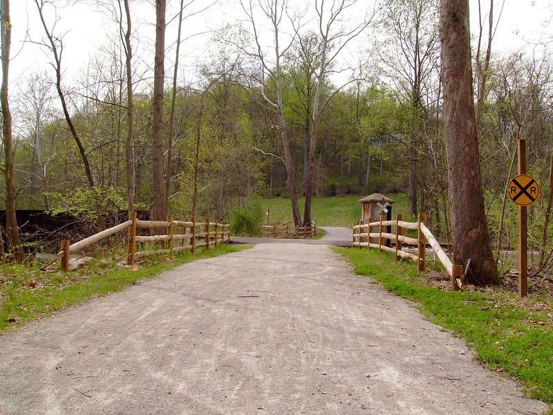 """<a href=""""http://www.flickr.com/people/cjb19772009/""""> Photo Credit: Curt Beal<a/>  The Sheepskin Trail cuts through central Fayette County, PA. The trail is a regional connector for the Great Allegheny Passage, Mon River Trail, Youghiogheny River Trail, the American discovery trail, and many other trails. The trail lies on the former B&O railroad connection between Morgantown, WV and Pittsburgh, PA.    The trail was funded through 3 Transportation Enhancement projects. These projects received $1.14 million in TE funding with an additional $190,000 coming through local matches. The funding helped to design, clear, and pave 32 miles of trail in Fayette County."""