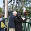 "Mayor Janet Taylor speaks at the opening ceremony for the bridge.<br /> <br /> In 2004, the City of Salem purchased the Union Street Railroad Bridge and its associated timber trestle from Pacific Union Railroad for $1. In 2009, the city finished converting it into a multi-use pathway for pedestrians, bicyclists, and other non-motorized users. The bridge, originally built in 1912-13, crosses a half-mile span of the Willamette River. The project improved bicycle and pedestrian safety and access, and provided a critical link in local, state, and regional trail networks.<br /> <br /> On April 18, 2009, hundreds of people joined local and state officials for the project's grand opening ceremony and an inaugural trip across the bridge. The project was awarded TE funds in 2003. Federal Award: $2,016,000; Local Match: $1,383,108; Total: $3,399,108<br /> <br /> To take a virtual walk across the bridge visit  <a href=""http://www.youtube.com/watch?v=uQDrhOQfwJc"">http://www.youtube.com/watch?v=uQDrhOQfwJc</a><br /> <br /> Photo Credit: Pat and Chuck Fisher"