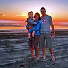 At the beach house in Grayland on the WA Coast. The sunsets are mind-blowing. Henry, Hsiu & Bruce.<br>WA-coast-04aug2012-C0009