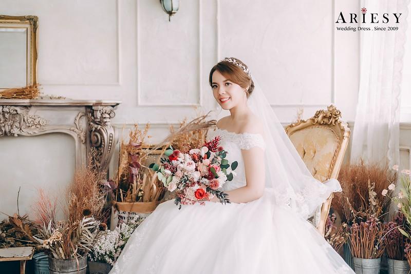 禮服出租,手工婚紗,婚紗包套,類婚紗照,優雅公主風白紗,新秘Ariesy團隊