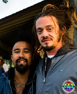 Nahko (Nahko and Medicine for the People)    and Jacob Hemphill (SOJA) @ California Roots Music Festival