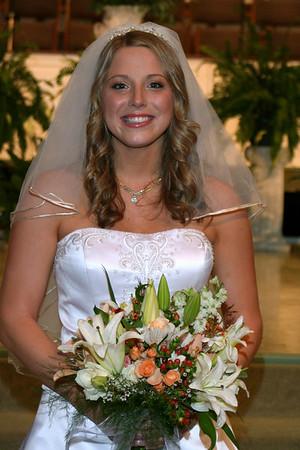 Josh and Missy Wedding Day 2006