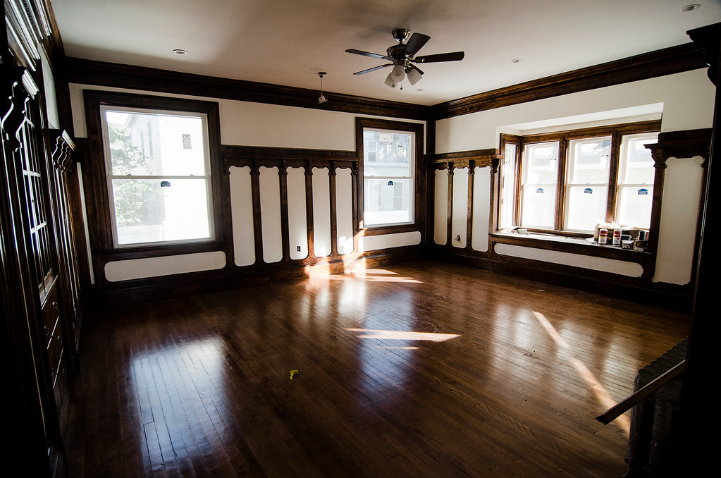 . The home at 30 Hartwell Street in Fitchburg, which has recently been rennovated by Clearwater Real Estate Developer Harold Mateo. SENTINEL & ENTERPRISE / Ashley Green