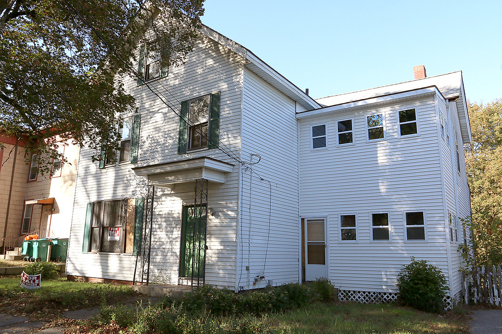 . Since January 1, 2017 owners and investors in Fitchburg have submitted requests to reinstate the previously vacant or abandoned buildings listed. Reinstatement allows owners to sell or use properties. This property is at 103 Nashua Street. SENTINEL & ENTERPRISE/JOHN LOVE