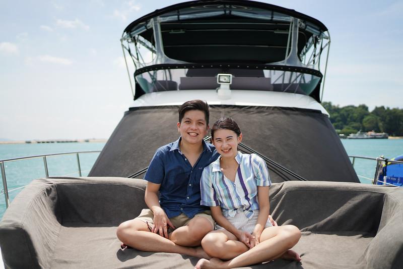 yacht couple