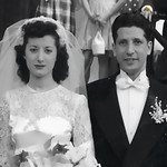Aunt Tina and Uncle Danny get married, c  1952 copy