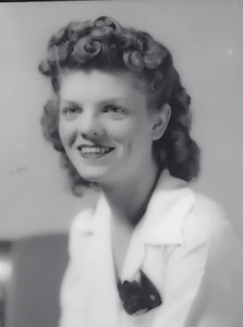 Aunt Frances in 1940's copy