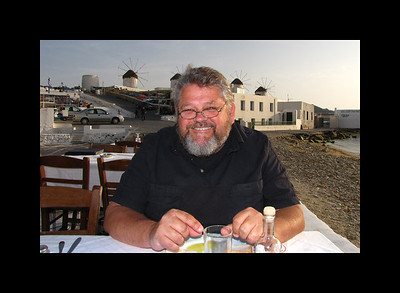 Jim on Mykonos
