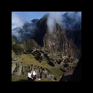 Chelle and Jim in the Lost City of the Incas - Peru 1967